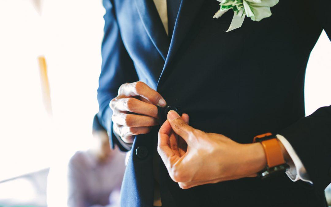 CLOTHES MAKETH THE MAN: WEDDING SUIT
